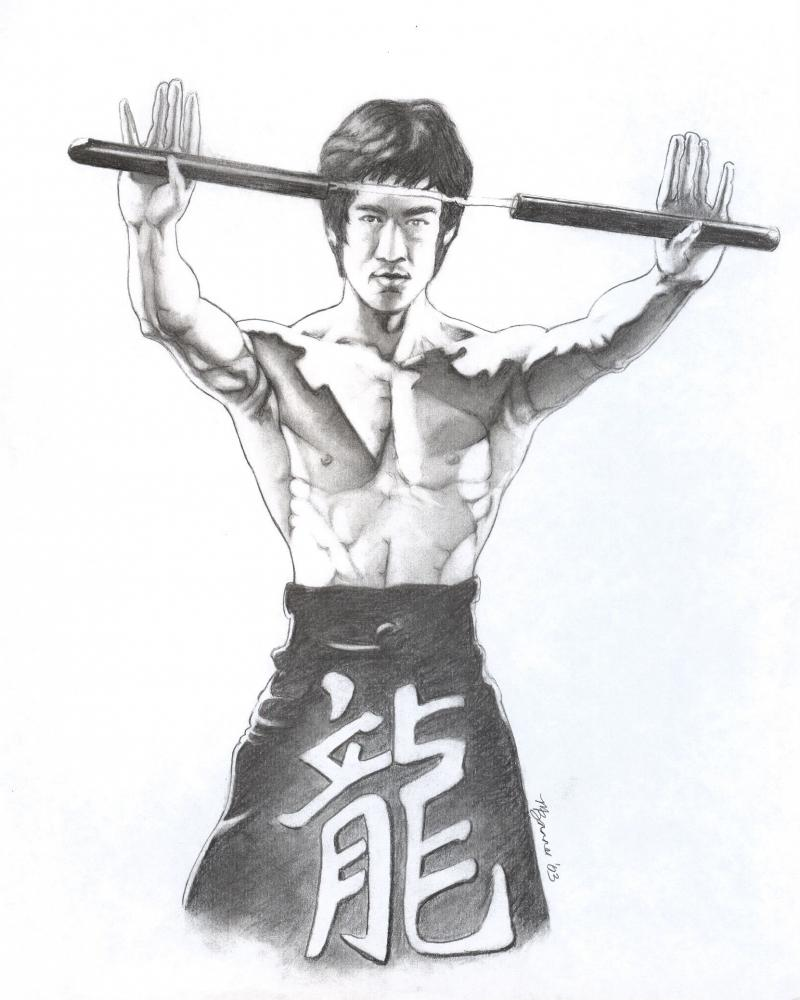 Bruce Lee by Bannercourt